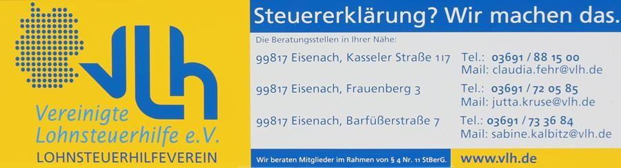 Vereinigte Lohnsteuerhilfe e.V. Sabine Kalbitz