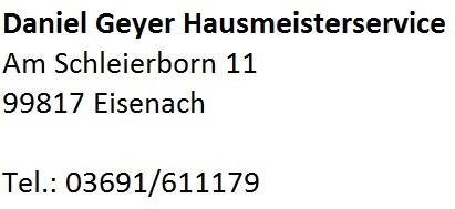 Daniel Geyer Hausmeisterservice