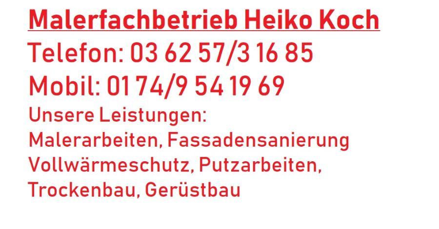 Malerfachbetrieb Heiko Koch