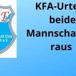 Urteil des KFA-Sportgerichtes zum Pokalspiel der Zweiten